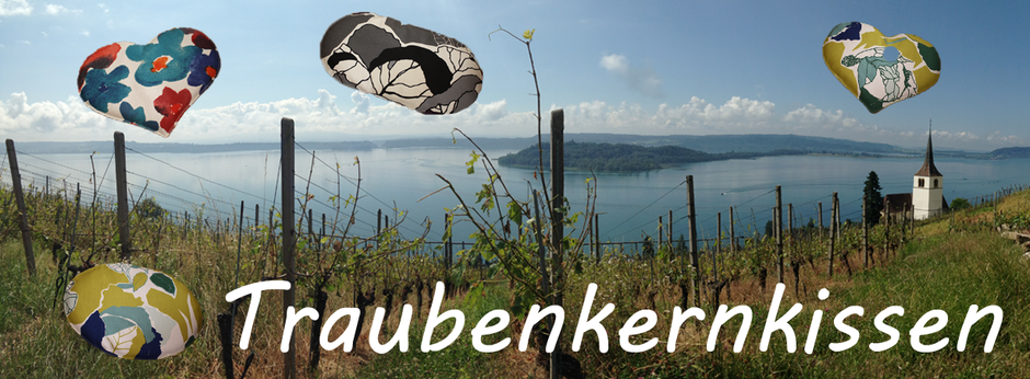 Traubenkernkissen | aus der Schweiz | Berner Mittelland | getrocknete Traubenkern verwenden wir weiter und vermindern so die Abfallproduktion | www.blaser-design-bern.ch | BlaserDesign