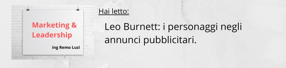 Leo Burnett_ i personaggi negli annunci pubblicitari - remo luzi