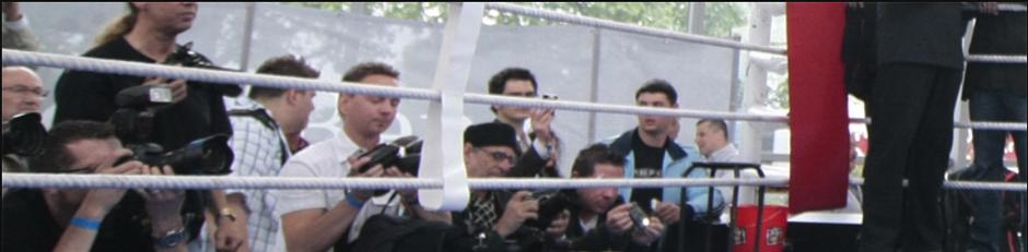 Zuschauer am Ring