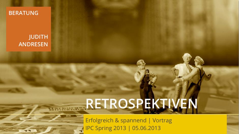 Startfolie des Vortrags (Bild: Alexander Stielau)