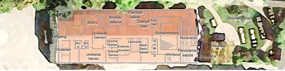 Saunagarten_Röder-Thermen_Kist_Lageplan