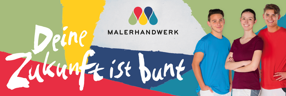 Ausbildung bei der Bernd Schienmann GmbH: Malerhandwerk Deine Zukunft ist bunt