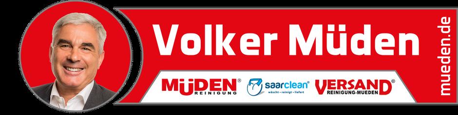 Müdenreinigung Saarbrücken, Bild Logo Volker Müden