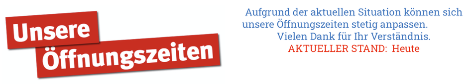 mueden.de, Startseite, Öffnungszeiten Hinweis, aktueller Stand