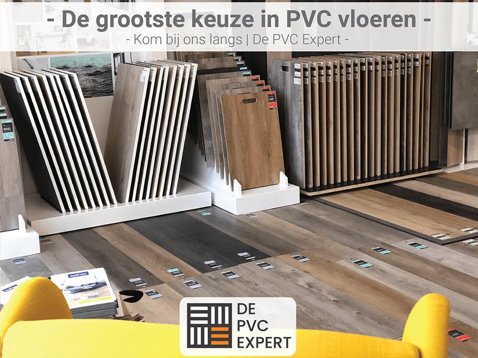 Showroom pvc expert vloeren in Zwijndrecht