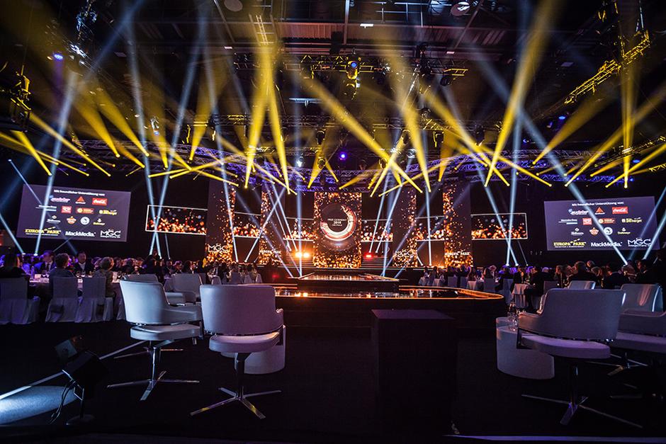Miss Germany Wahl 2019 in der Europa-Park Arena - Bühnenansicht, geplant mit AutoSTAGE
