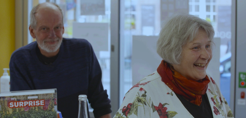 """Foto: Ausschnitt aus dem Dokumentarfilm """"Leben und Liebe auf der Gasse"""""""