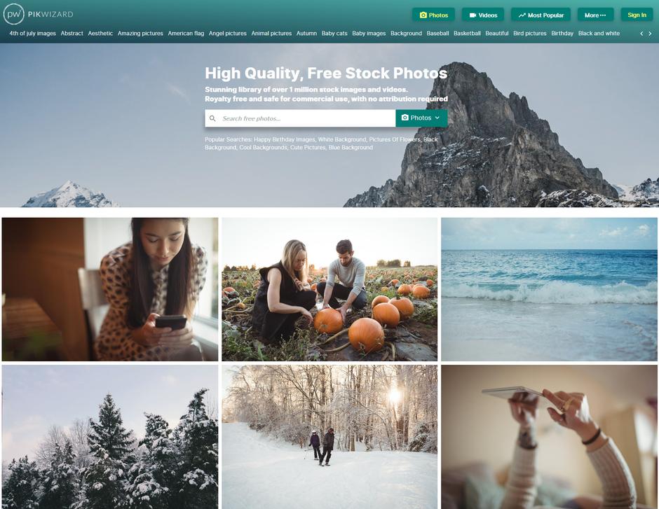 pikwizerd images libres de droits par eyeonline agency agence webmarketing