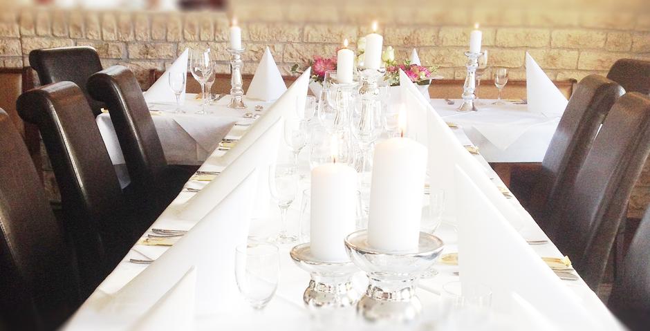 Das Marc Restaurant Burgau - internationale kulinarische Spezialitäten - feiern und genießen in Burgau und Umgebung