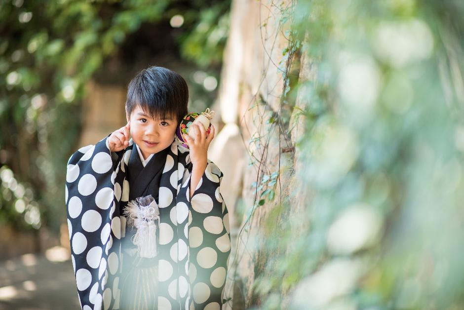七五三撮影 出張カメラマン 北井香苗 出張撮影 5歳七五三 東京 深大寺 家族写真 ロケーションフォト 七五三