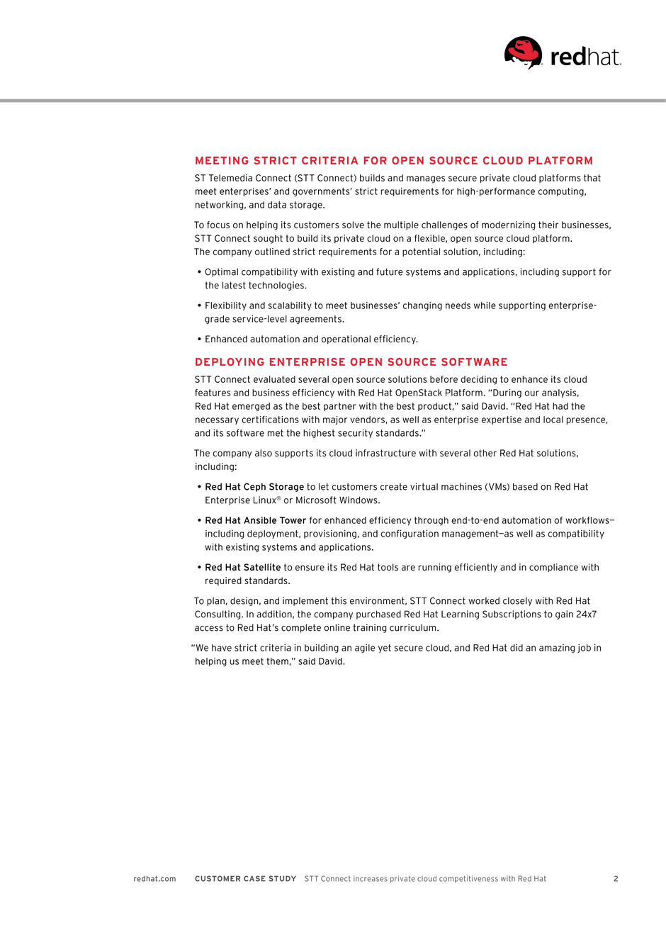 Red Hat Customers Case Studies - Wiki Labs, Malaysia IT Solutions