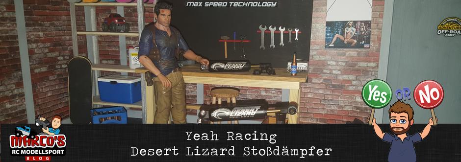Yeah Racing Stoßdämpfer-Desert Lizard - Testbericht