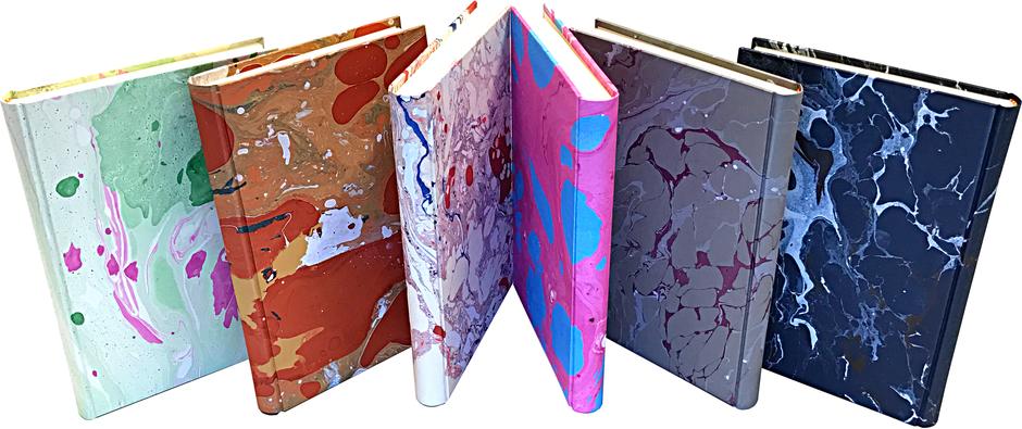 Quaderni carta marmorizzata