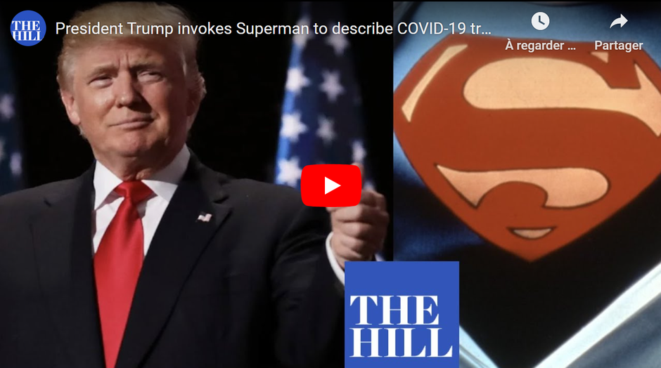 "Figure 5. Donald Trump tells a crowd of his constituents that he feels ""like Superman"" after being treated for Covid-19, Tucson AZ, October 19, 2020"