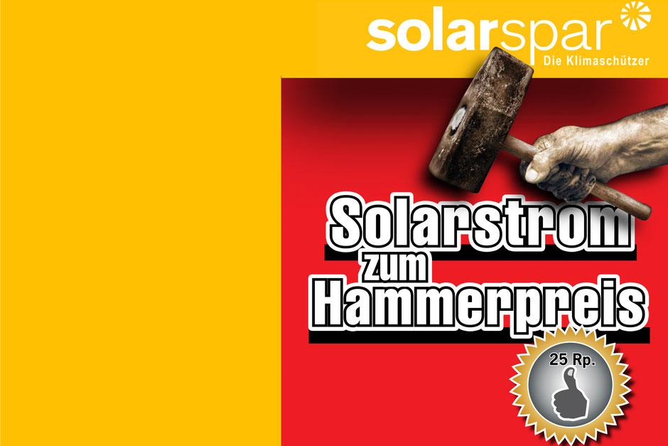 Solarstrom zum Hammerpreis