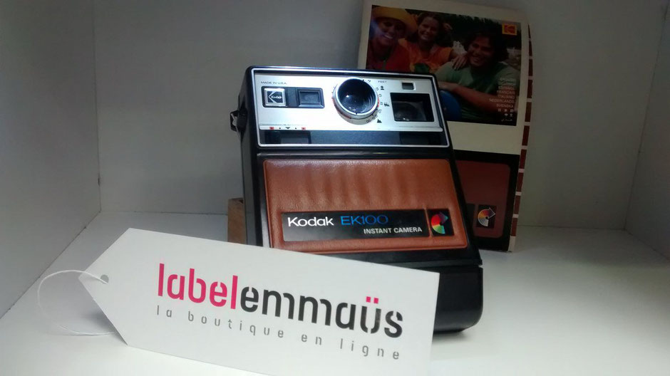 appareil photo d'occasion du label emmaus