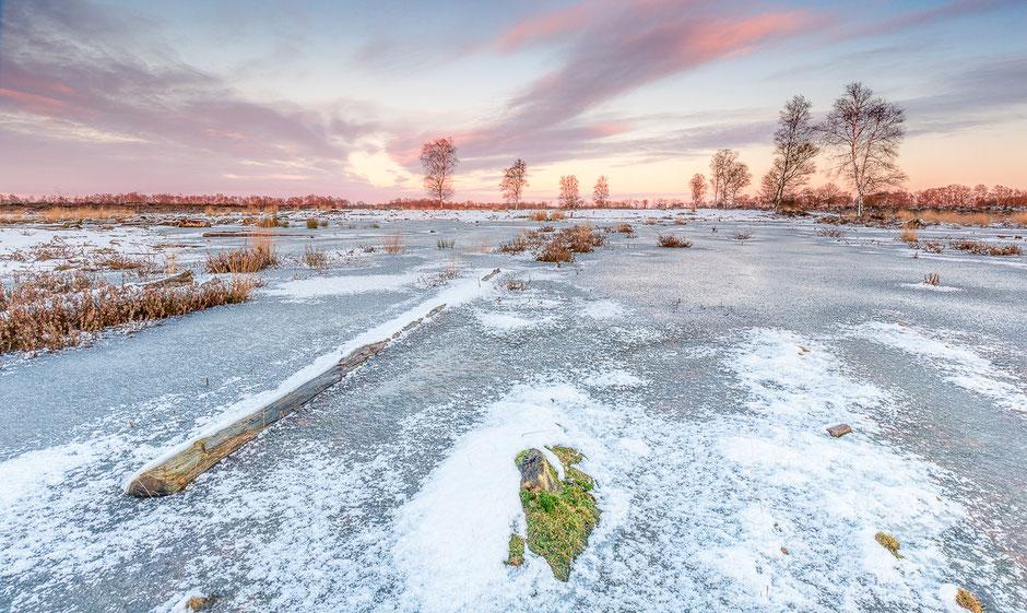 Prachtige zonsondergang op het Balloërveld © Jurjen Veerman