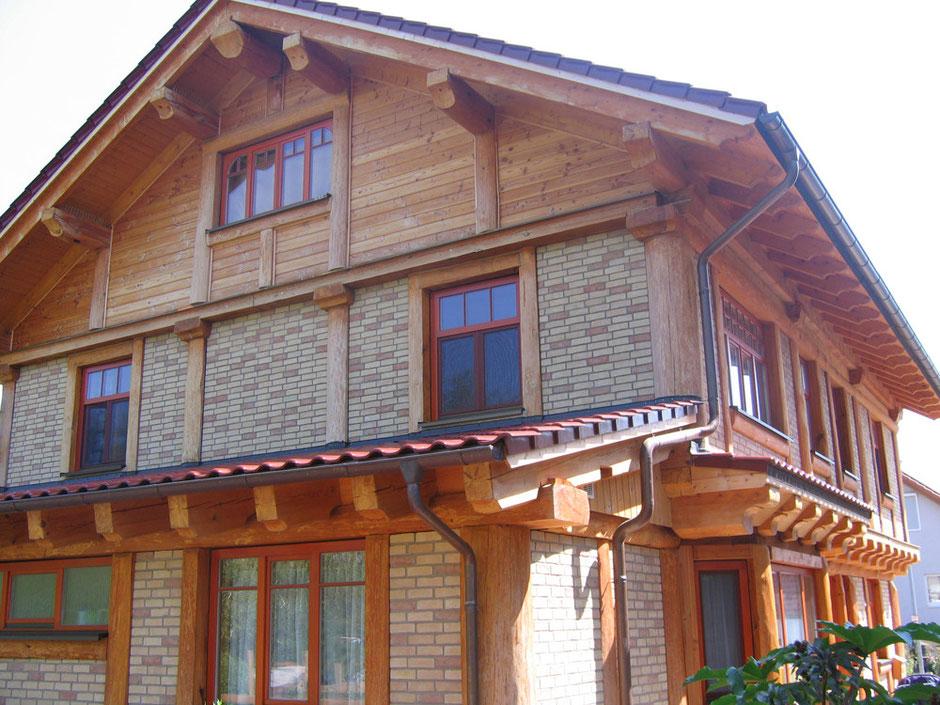 Деревянный дом,Германия. Фото и работа А.Браун.