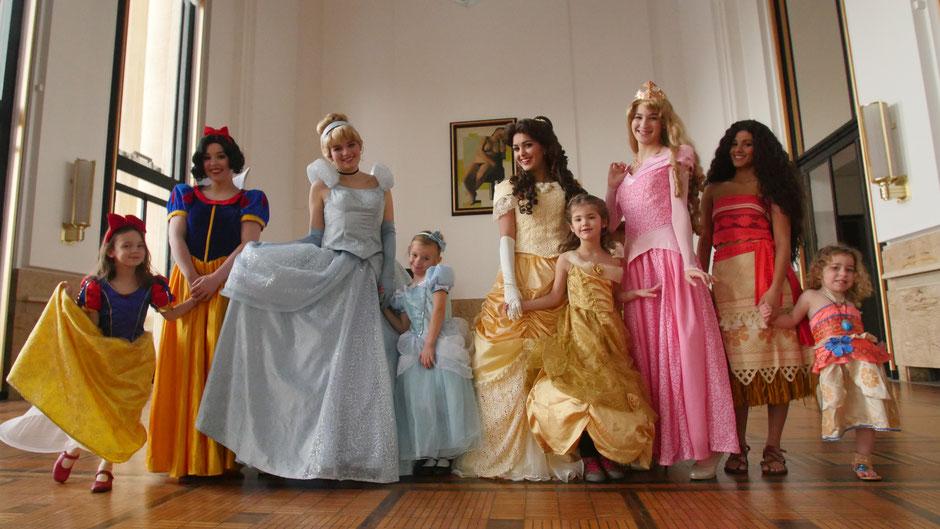 Anniversaire princesse à domicile