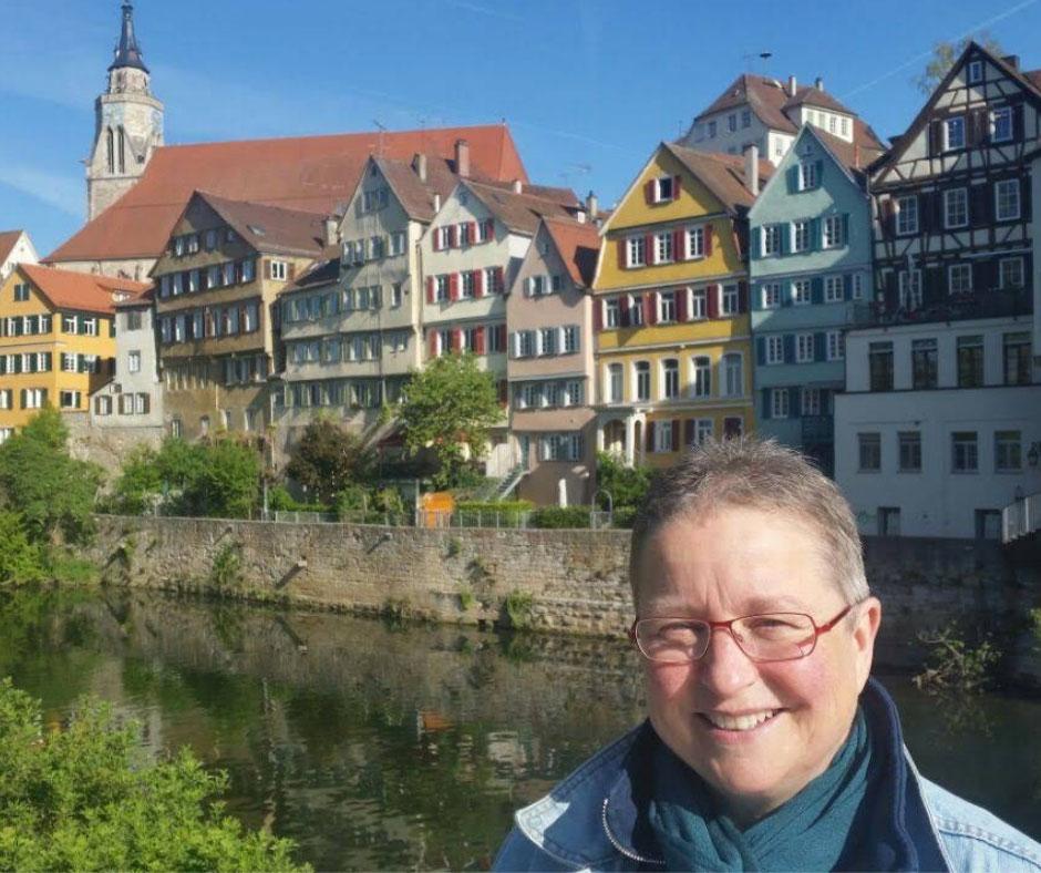 Susanne Jetter spricht für misshandelte Kinder im Frauenhaus Tübingen