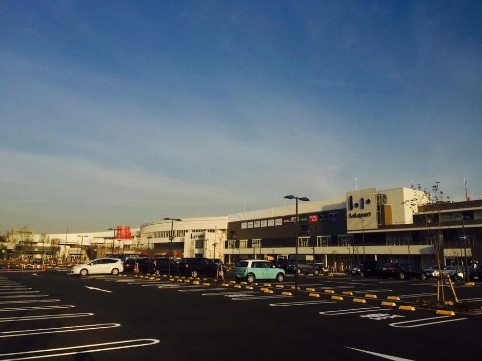 Lalaport Tachikawa Tachihi shopping mall Tokyo Tachikawa one of the biggest mall in Western Tokyo Tama area tourist spot TAMA Tourism Promotion - Visit Tama ららぽーと立川立飛 東京都立川市 西東京地域 最大級ショッピングモール 買い物 散策 観光スポット 多摩観光振興会