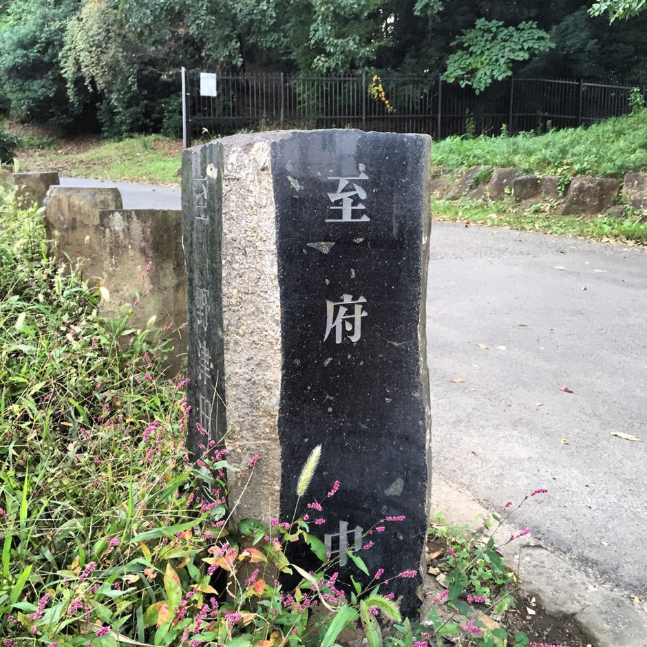 Stone signpost of Oyama Road Tokyo Machida historical tourist walking spot TAMA Tourism Promotion - Visit Tama 大山道の道標 東京都町田市 歴史 散策 観光スポット 多摩観光振興会