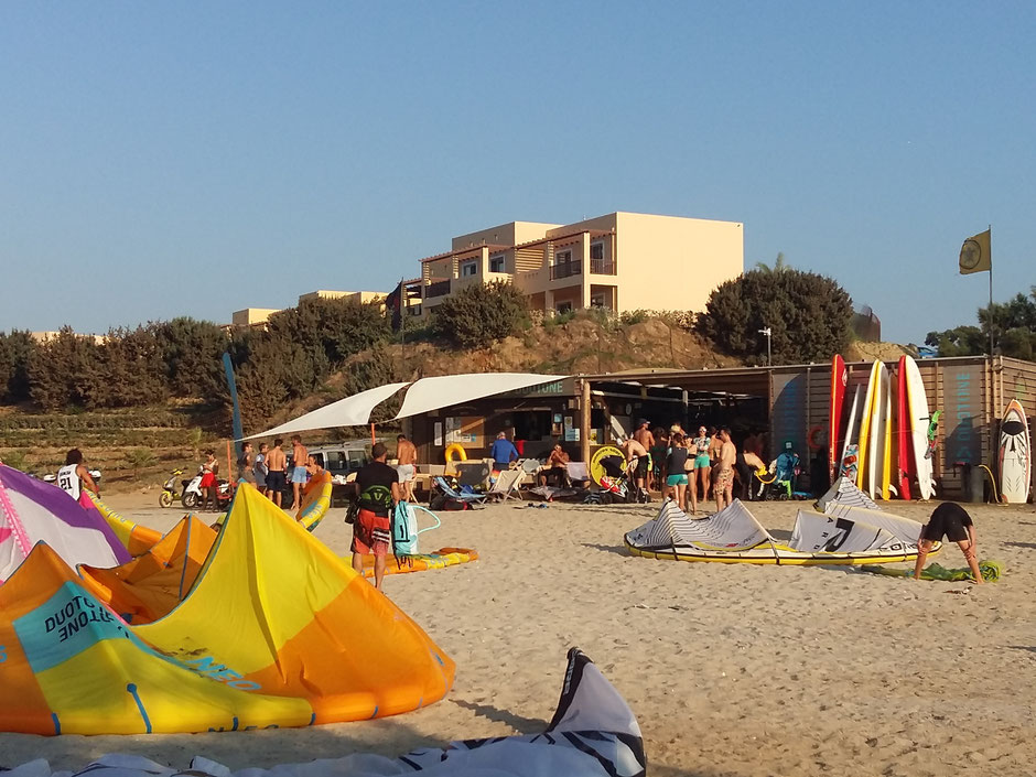 kitesurfing school Kos Greece, horizon surfing