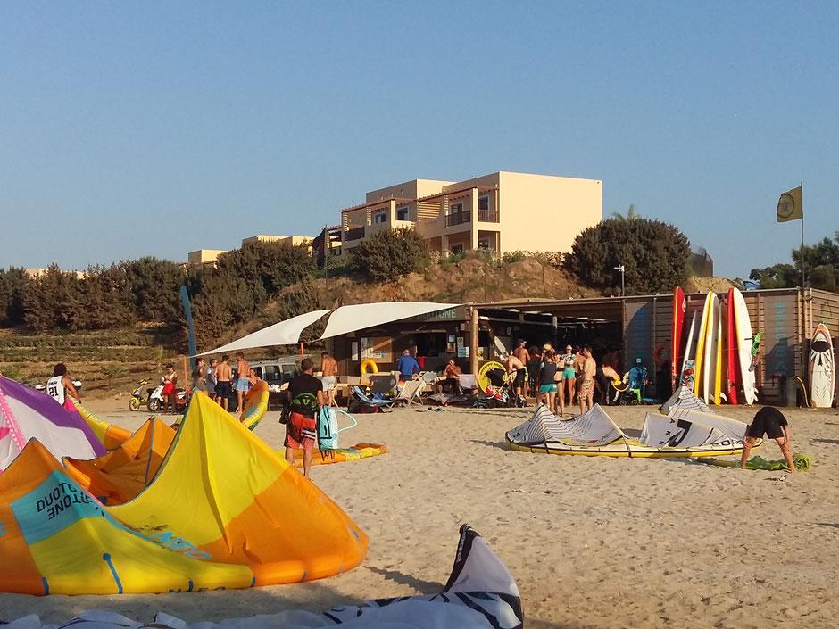 kitesurfing school Kos Greece, horizon surfing Center