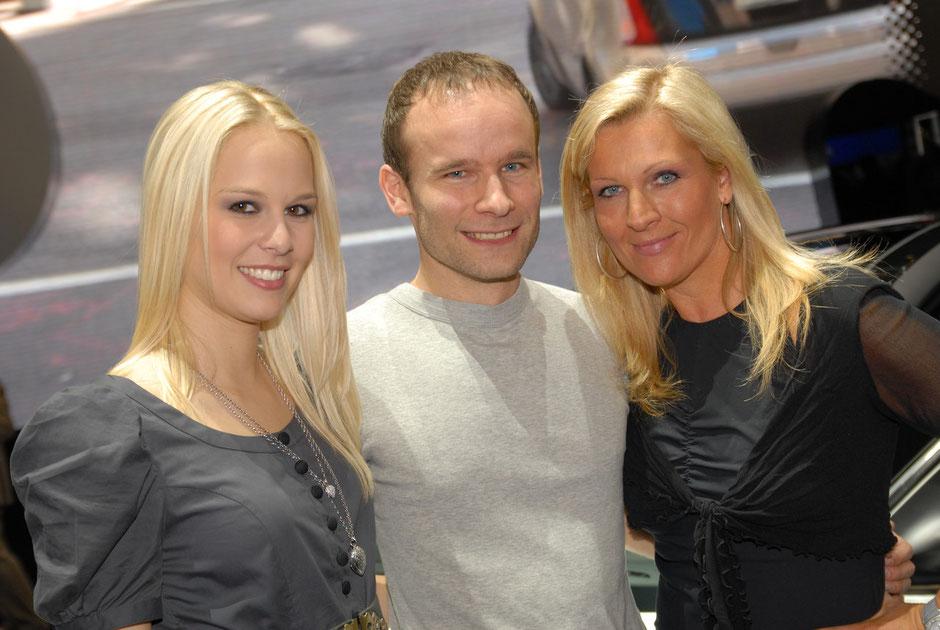 Linda Fäh - Miss Schweiz 2009 und Patricia Boser, Moderatorin «Lifestyle»