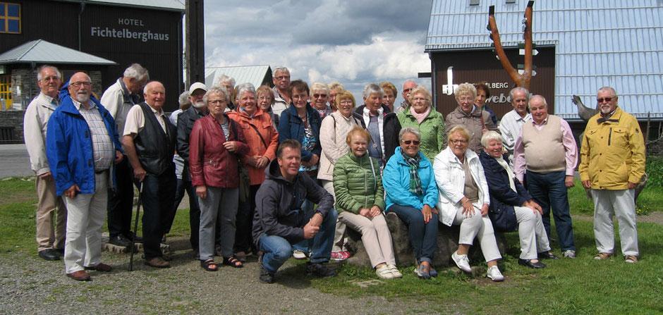Foto: Reisegruppe des Heimatvereins