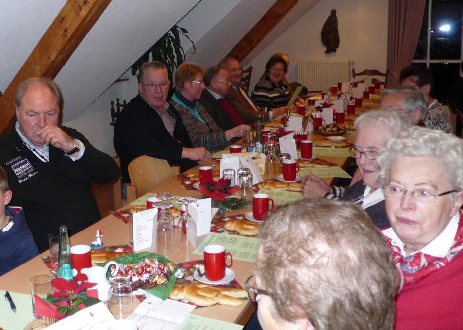 Adventsfeier im Heimathaus