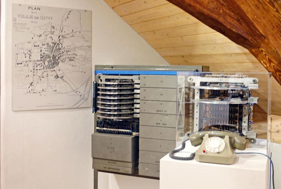 Telephonica: Wandstation Schweiz 1920