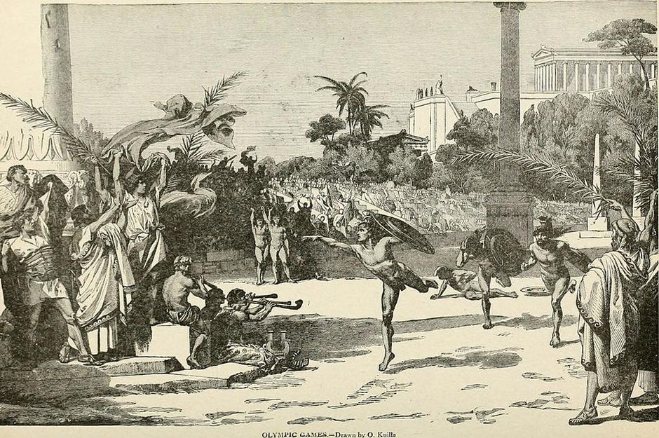 古代オリンピック(写真はWikipediaより)