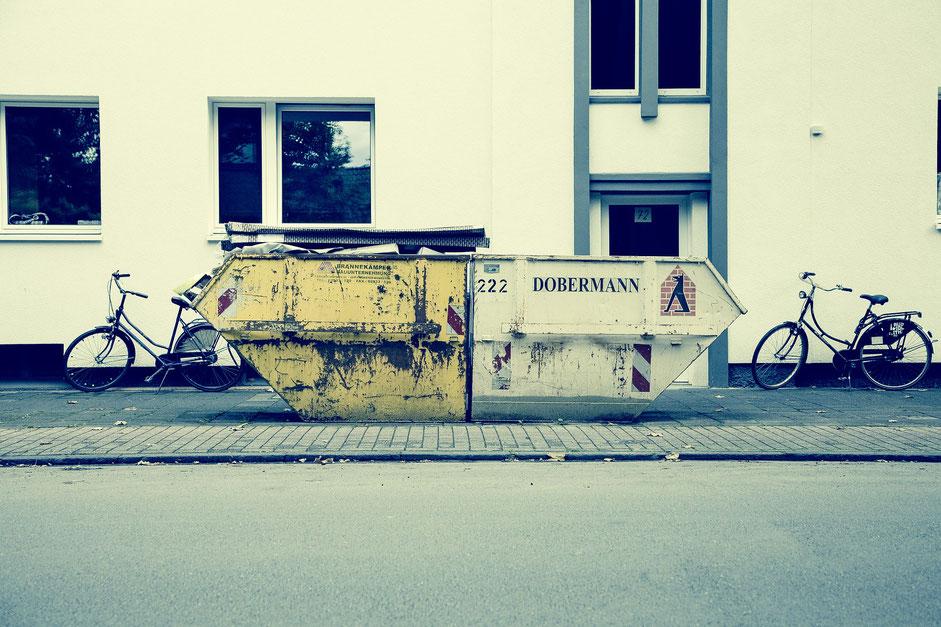 remorque et vélo hollandais d'occasion