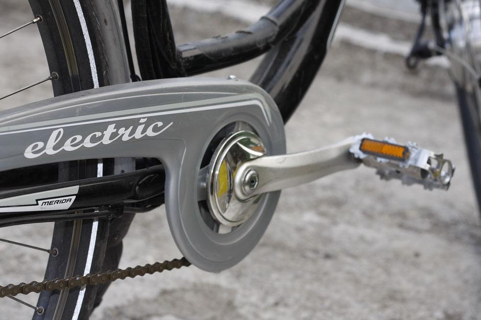 velo electric gris