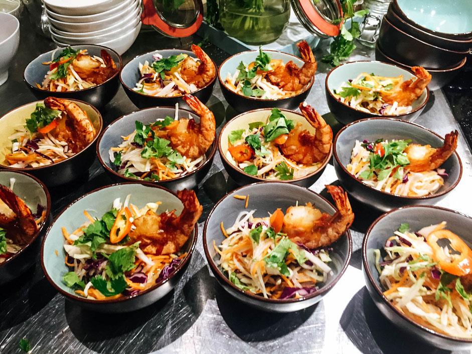 Vietnamesischer Goi Salat Kochstudio Bilou Kochkurs