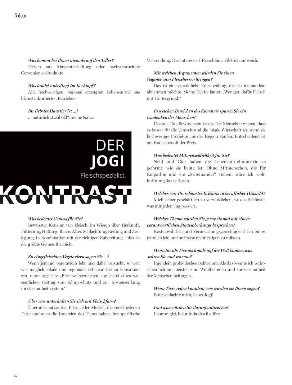 Interview VORARLBERGERIN Magazin