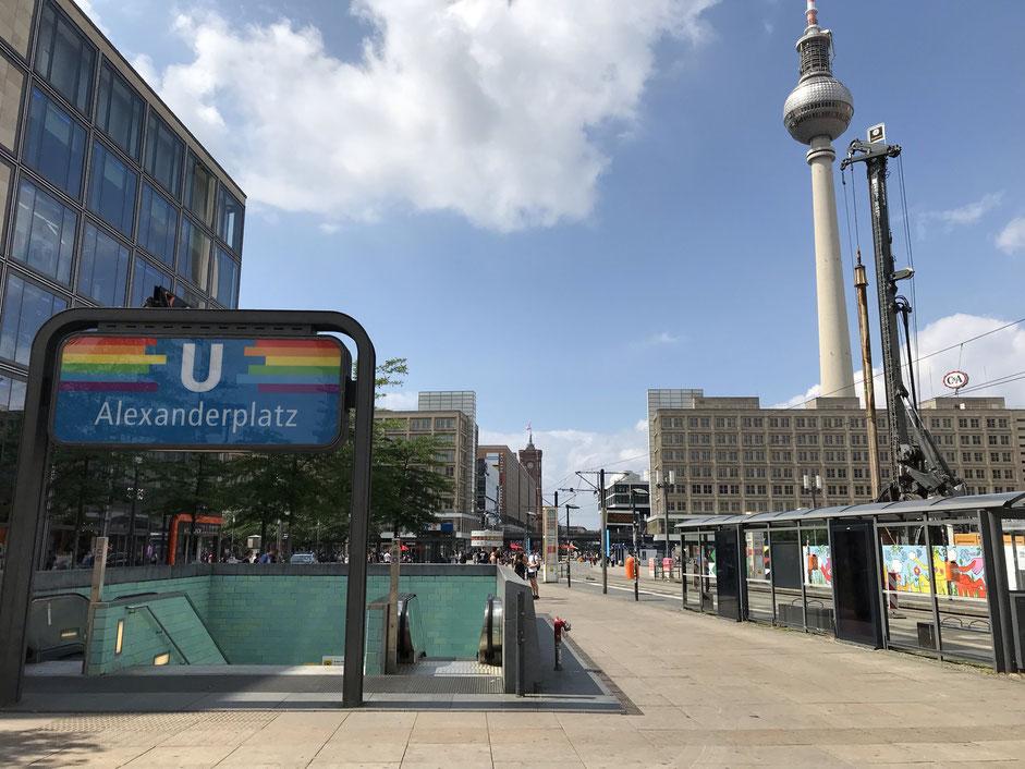 Berlin ist immer auch ein Statement - Alexanderplatz