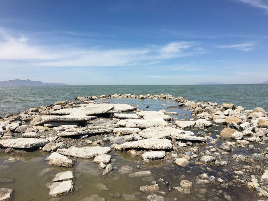 Grande Lago salato dello Utah