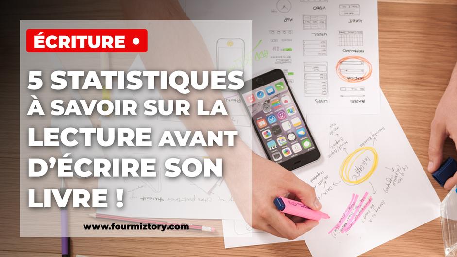 Les habitudes des lecteurs français peuvent aider à l'écriture du livre !