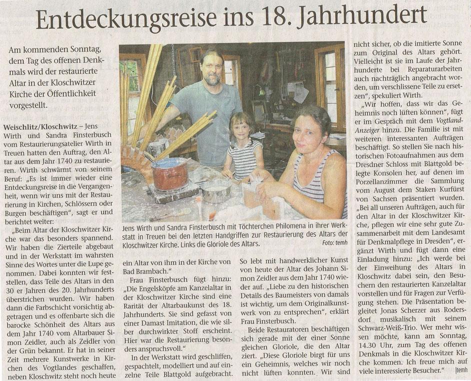 Vogtland-Anzeiger 03.09.2019