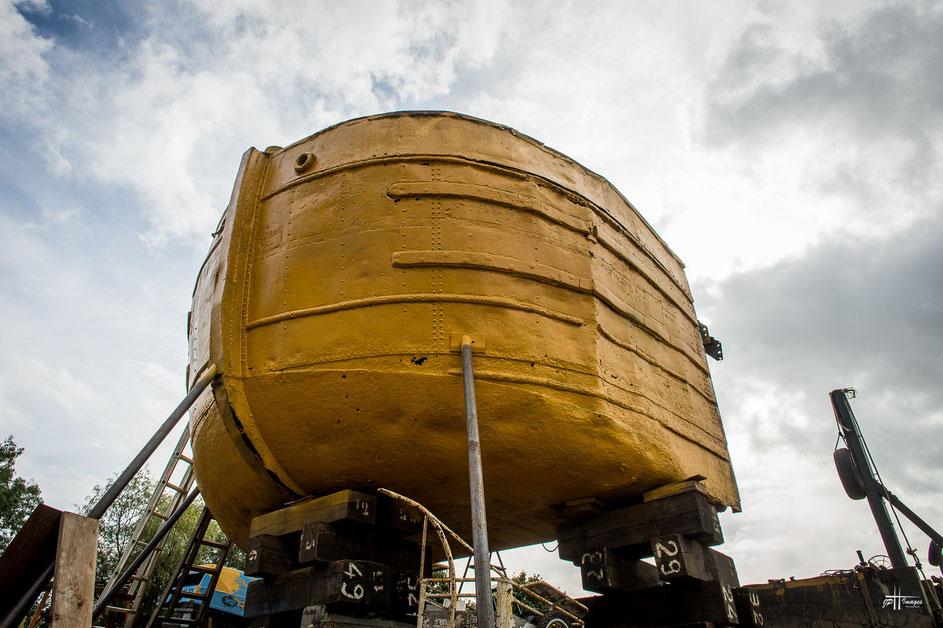 Restauration de la péniche la Lorraine