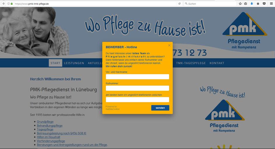 PMK-Pflegedienst GmbH - Bewerbung leicht gemacht