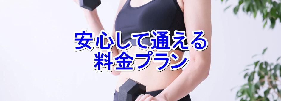 堺市 パーソナルトレーニングジム 値段