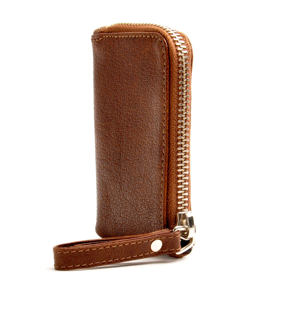 Key-Holder Herren  Leder  braun handcrafted Herrenaccessories