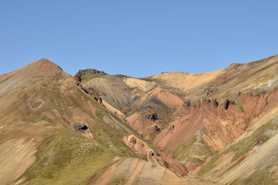 Colourful mountain - Suðurnámur, Landmannalaugar- day hikes