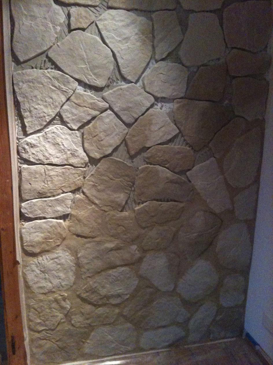 Natursteinmauerimitat (Täuffelen)