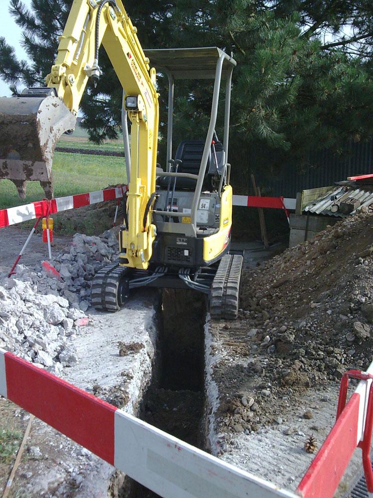 Wasserleitung erstellen (Brüttelen)