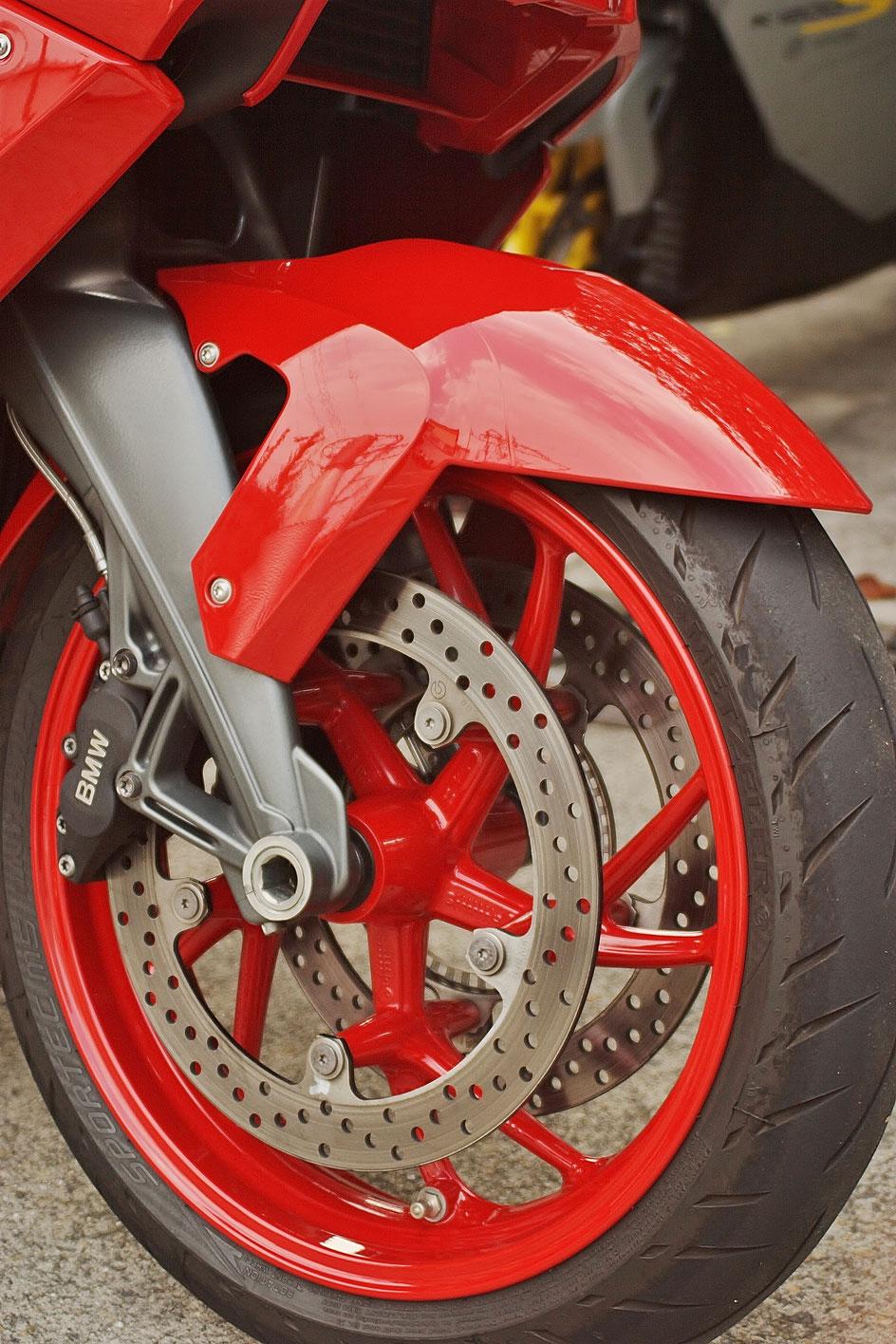 バイクのホイールコーティング K1300S 狭山 入間 東松山 練馬 ブレーキダスト