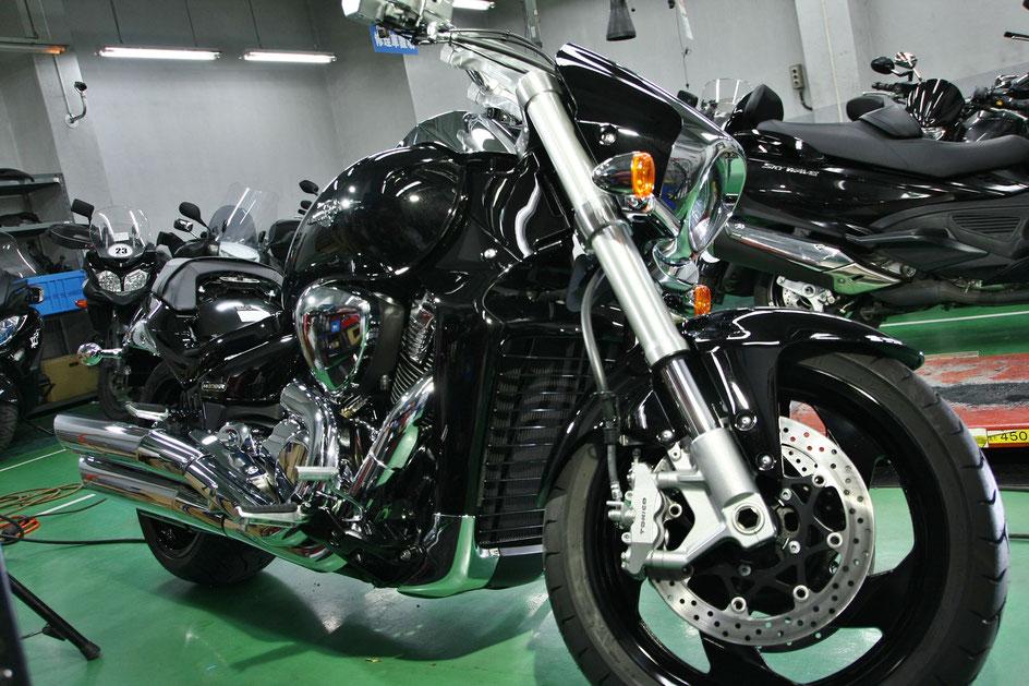 ブルバードM109Rのガラスコーティング 埼玉